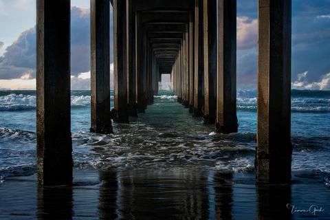 Coastal Pier La Jolla print