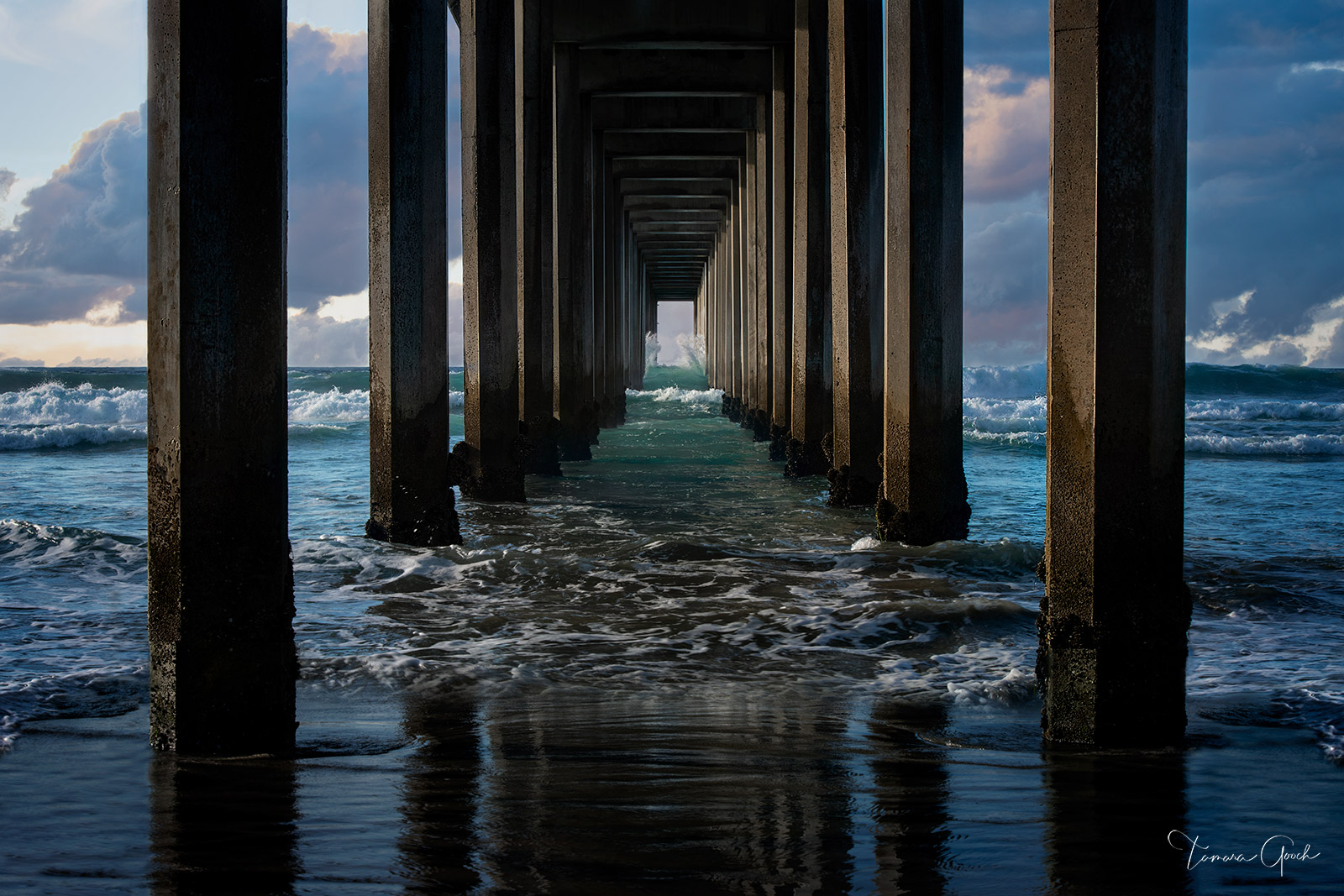 Limited Edition Print of 50 Coastal Pier aka, the Scripps Pier in La Jolla California, is a wonderful example of how we have...