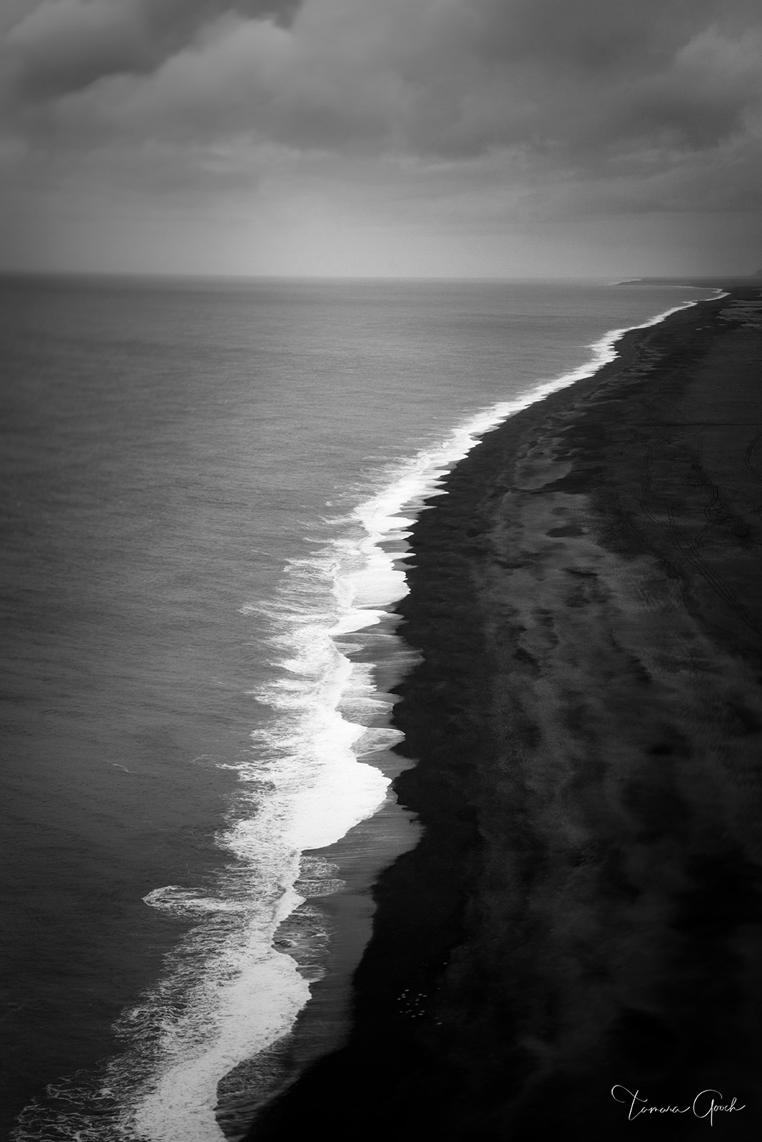 Black Sand Beach of Vic a Fine Art Limited Edition Print of 50 All photography prints are available ready to hang on Aluminum...