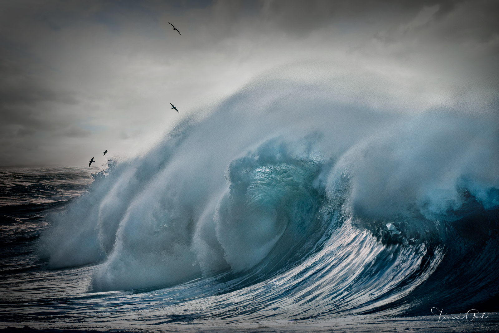 Limited Edition Print of 50 Giant crashing waves are mesmerizing. You can easily become hypnotized and captivated by the power...